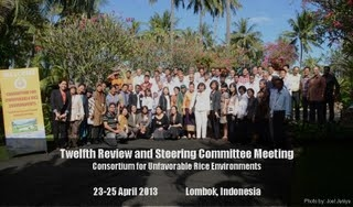 SC meeting in Lombok, Indonesia 2013